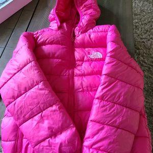 Girls 2xl(7/8) North face jacket